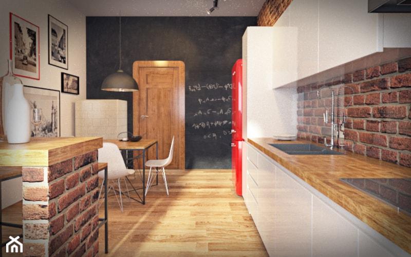 Kuchnia w stylu loftowym, industrialnym  zdjęcie od Kameleon  Kreatywne Stu