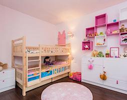 Mozarta - Mały różowy pokój dziecka dla dziewczynki dla rodzeństwa dla malucha, styl tradycyjny - zdjęcie od Kameleon - Kreatywne Studio Projektowania Wnętrz