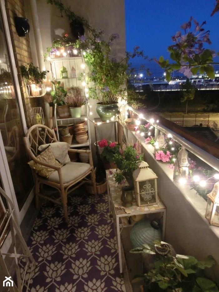 Jak urządzić balkon? - ciekawe pomysły na aranżację przestrzeni balkonowych - Średni taras, styl tradycyjny - zdjęcie od MartaWieclawDesign - Homebook