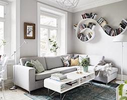 Salon styl Skandynawski - zdjęcie od MartaWieclawDesign