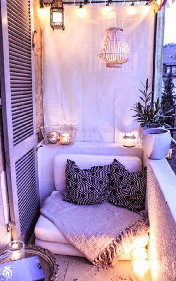 Jak urządzić balkon? - ciekawe pomysły na aranżację przestrzeni balkonowych - Mały taras - zdjęcie od MartaWieclawDesign - Homebook