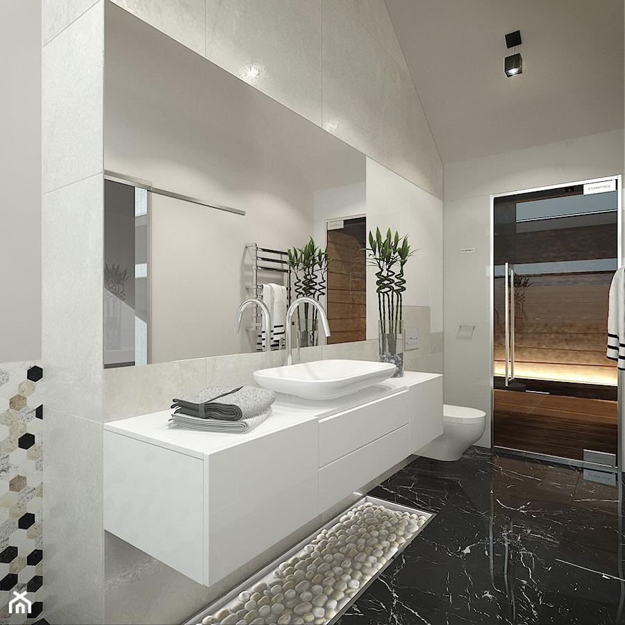 salon kąpielowy z sauną - zdjęcie od BlueCat Studio