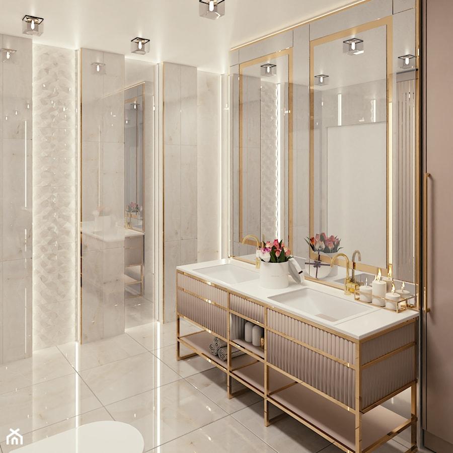 ROYAL GOLD - Łazienka, styl eklektyczny - zdjęcie od BlueCat Studio