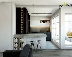 Mieszkanie singla_Luksemburg - zdjęcie od Marta Wanat Projektowanie wnętrz