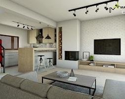 Dom w Zielonkach - zdjęcie od Marta Wanat Projektowanie wnętrz
