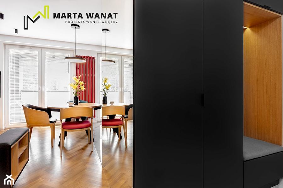 mieszkanie w centrum Krakowa - Hol / przedpokój, styl nowoczesny - zdjęcie od Marta Wanat Projektowanie wnętrz