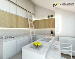 Kuchnia+-+zdj%C4%99cie+od+Marta+Wanat+Projektowanie+wn%C4%99trz