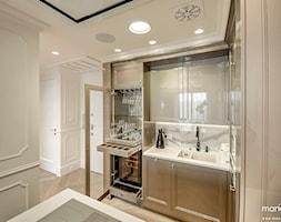 APARTAMENT STYLOWY BIG - Średnia otwarta kuchnia, styl klasyczny - zdjęcie od MANGO Studio Architektury Wnętrz i Ogrodów