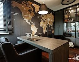 """domowy gabinet - zdjęcie od MANGO STUDIO - projekty wnętrz & wykonawstwo """"POD KLUCZ"""" - ZASTĘPSTWO INWESTORSKIE - projekty wnętrz HoReCa - konsultacje"""