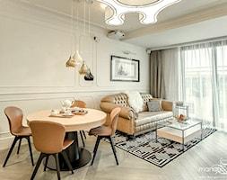 APARTAMENT STYLOWY BIG - Salon, styl klasyczny - zdjęcie od MANGO Studio Architektury Wnętrz i Ogrodów