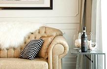 Salon styl Klasyczny - zdjęcie od MANGO Studio Architektury Wnętrz i Ogrodów