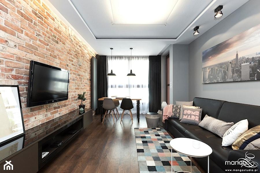 mieszkanie 52 m2 bajeczna krak211w Średni szary