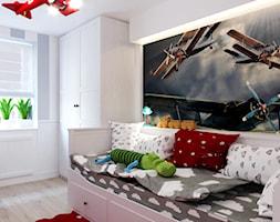 Kamienica na Mokotowie - Średni szary pokój dziecka dla chłopca dla malucha, styl klasyczny - zdjęcie od HoH studio - Homebook