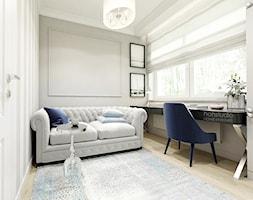 Rodzinny dom w Warszawie - Biuro, styl klasyczny - zdjęcie od HoH studio - Homebook