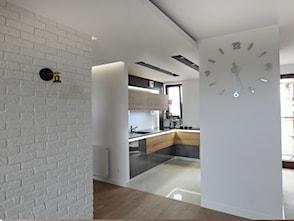 Kuchnia oddzielona od salonu pomys y inspiracje z for Polaczenie kuchni z salonem