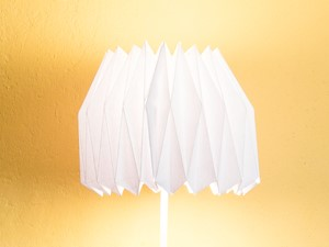Jak zrobić lampę origami?