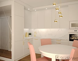Aneks+kuchenny+w+mieszkaniu.+-+zdj%C4%99cie+od+Studio+Vermilion+Anna+Cis%C5%82o