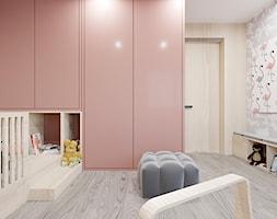 DOM / MSZCZONÓW - Średni szary pokój dziecka dla dziewczynki dla ucznia dla niemowlaka dla malucha, styl nowoczesny - zdjęcie od ZEN Interiors