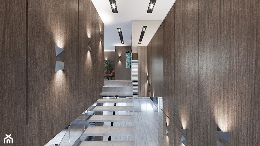 DOM / MSZCZONÓW - Schody, styl nowoczesny - zdjęcie od ZEN Interiors