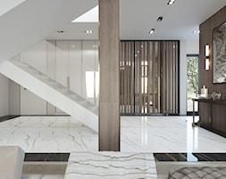 ZEN | Elegancki dom - Średni beżowy hol / przedpokój, styl nowoczesny - zdjęcie od ZEN Interiors