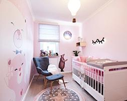 W oczekiwnaiu na ... - Mały różowy pokój dziecka dla dziewczynki dla niemowlaka - zdjęcie od DreamHouse