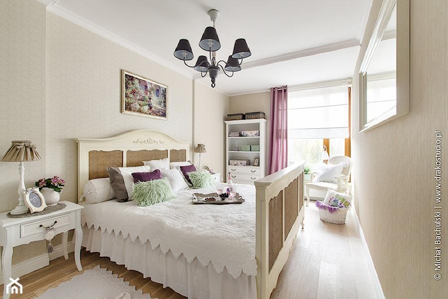 Ludwik w Skandynawii ;) - Średnia beżowa sypialnia małżeńska, styl prowansalski - zdjęcie od DreamHouse