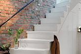 stare schody w stylu retro