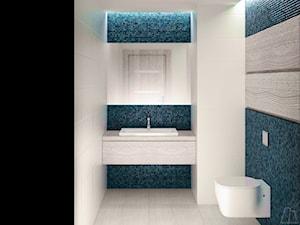 Toaleta - projekt wnętrz - zdjęcie od Moskou Architektura Wnętrz