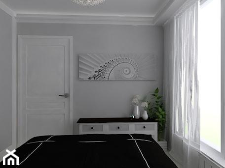 Aranżacje wnętrz - Sypialnia: Mieszkanie dla pary - Sypialnia, styl klasyczny - CHATANOWA. Przeglądaj, dodawaj i zapisuj najlepsze zdjęcia, pomysły i inspiracje designerskie. W bazie mamy już prawie milion fotografii!