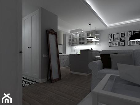 Aranżacje wnętrz - Salon: oświetlenie liniowe - CHATANOWA. Przeglądaj, dodawaj i zapisuj najlepsze zdjęcia, pomysły i inspiracje designerskie. W bazie mamy już prawie milion fotografii!