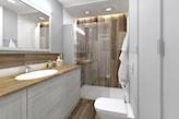 Ciąg szafek łazieenkowych - zdjęcie od CHATANOWA - Homebook