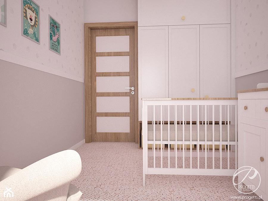 Aranżacje wnętrz - Pokój dziecka: Apartamenty Marymont - Mały biały szary pokój dziecka dla chłopca dla dziewczynki dla niemowlaka, styl nowoczesny - Progetti Architektura . Przeglądaj, dodawaj i zapisuj najlepsze zdjęcia, pomysły i inspiracje designerskie. W bazie mamy już prawie milion fotografii!