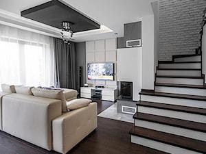 Salon - zdjęcie od Progetti Architektura