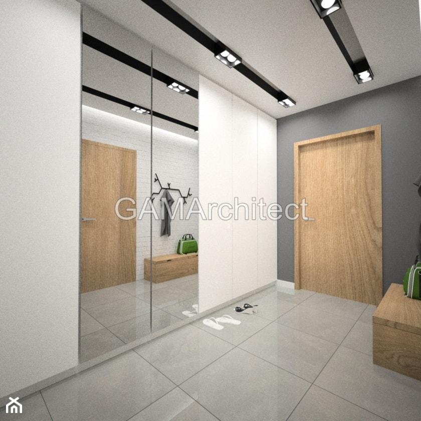 Projekt holu / schodów - Hol / przedpokój, styl nowoczesny - zdjęcie od GAMArchitect - Homebook