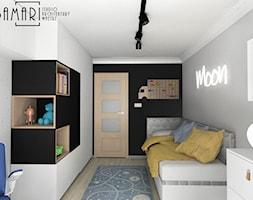 Pokój młodzieżowy z neonem - zdjęcie od BAMARI Studio Architektury Wnętrz - Homebook