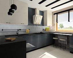 Kuchnia z akcentem retro - Kuchnia, styl eklektyczny - zdjęcie od BAMARI Studio Architektury Wnętrz - Homebook