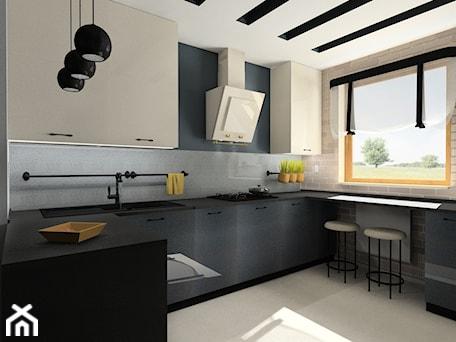 Aranżacje wnętrz - Kuchnia: Kuchnia z akcentem retro - Kuchnia, styl eklektyczny - BAMARI Studio Architektury Wnętrz. Przeglądaj, dodawaj i zapisuj najlepsze zdjęcia, pomysły i inspiracje designerskie. W bazie mamy już prawie milion fotografii!