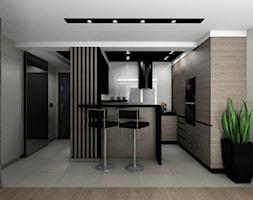 Kuchnia z okapem wyspowym - zdjęcie od BAMARI Studio Architektury Wnętrz - Homebook