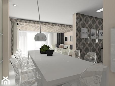 Aranżacje wnętrz - Jadalnia: w stylu glamour - BAMARI Studio Architektury Wnętrz. Przeglądaj, dodawaj i zapisuj najlepsze zdjęcia, pomysły i inspiracje designerskie. W bazie mamy już prawie milion fotografii!