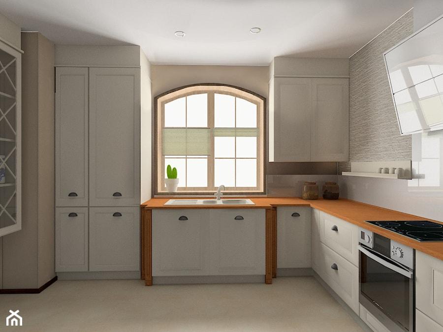 Kuchnia eklektyczna - Kuchnia, styl eklektyczny - zdjęcie od BAMARI Studio Architektury Wnętrz