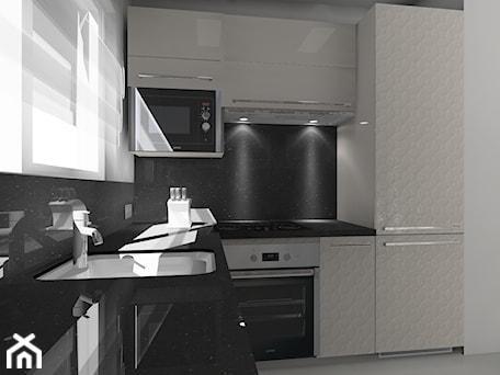 Aranżacje wnętrz - Kuchnia: w stylu glamour - BAMARI Studio Architektury Wnętrz. Przeglądaj, dodawaj i zapisuj najlepsze zdjęcia, pomysły i inspiracje designerskie. W bazie mamy już prawie milion fotografii!