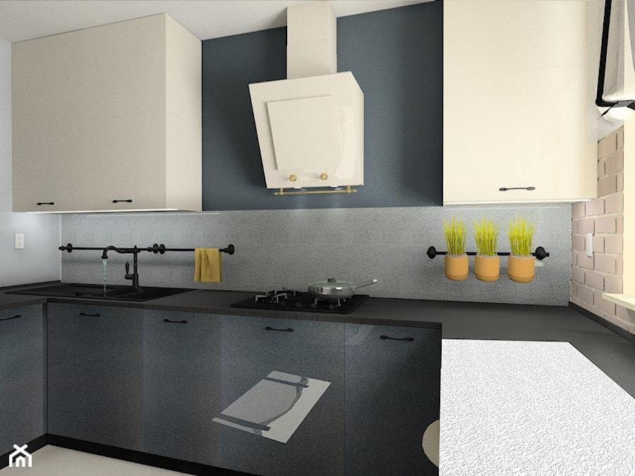 Kuchnia z akcentem retro - Kuchnia, styl eklektyczny - zdjęcie od BAMARI Studio Architektury Wnętrz