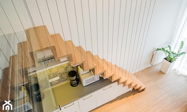 balustrada linowa z metalu