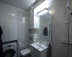 Łazienka z falami. - zdjęcie od Interio-Desi Pracownia Projektowa