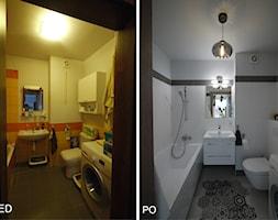 Łazienka z dywanikiem - zdjęcie od Interio-Desi Pracownia Projektowa