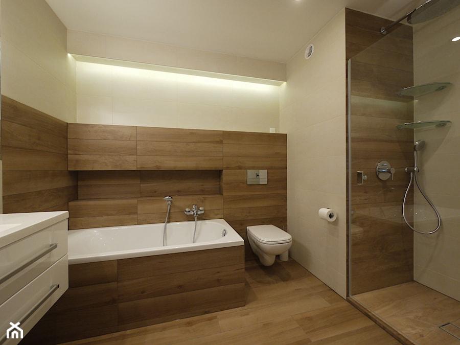 łazienka W Drewnie Zdjęcie Od Interio Desi Pracownia