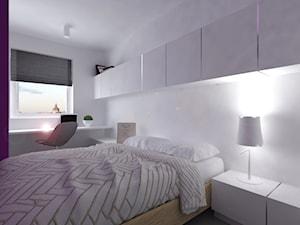 Minimalistyczne, białe mieszkanie