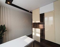 Mieszkanie w Swarzędzu - Małe beżowe biuro, styl nowoczesny - zdjęcie od Vivere Colorito