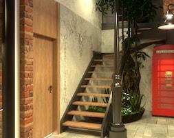Przedpokój w klimacie starej uliczki - zdjęcie od Cubic concept