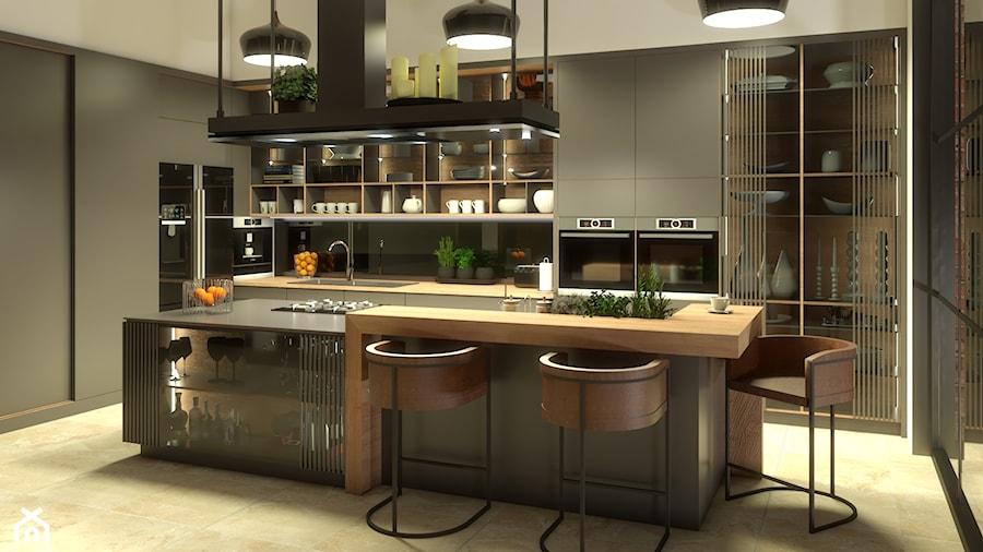kuchnia z włoskim zacięciem - zdjęcie od Cubic concept